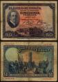Billete Banco de España - Madrid 0050 pesetas 1927 BC