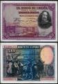 Billete Banco de España - Madrid 0050 pesetas 1928 MBC+