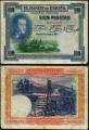 Billete Banco de España - Madrid 0100 pesetas 1925 MBC Sin Serie