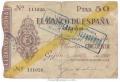 Billete Banco de España - Gijón 050 pesetas 1936 BC