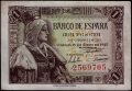 Billete Estado Español 0001 peseta Madrid 1945 SC- SIN SERIE