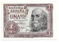Billete Estado Español 0001 peseta Madrid 1953 SC
