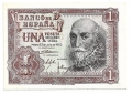 Billete Estado Español 0001 peseta Madrid 1953 SC