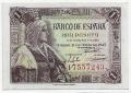 Billete Estado Español 0001 peseta Madrid 1945 SC