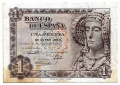 Billete Estado Español 0001 peseta Madrid 1948 EBC