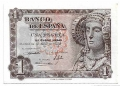 Billete Estado Español 0001 peseta Madrid 1948 SC