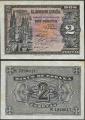Billete Estado Español 0002 pesetas Burgos 1938 S/C