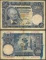 Billete Estado Español 0500 pesetas Madrid 1951 BC