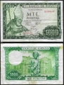 Billete Estado Español 1000 pesetas Madrid 1965 BC