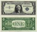 Billete Estados Unidos 001 Dolar EBC. 1957 A