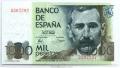 Billete Juan Carlos I 01000 pesetas Madrid 1979 SIN SERIE SC