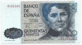 Billete Juan Carlos I 00500 pesetas Madrid 1979 S/SERIE SC