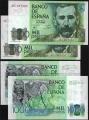 Billete Juan Carlos I 01000 pesetas Madrid 1979 PAREJA S/C