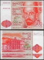 Billete Juan Carlos I 02000 pesetas Madrid 1980 SC - Pareja