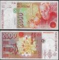Billete Juan Carlos I 02000 pesetas Madrid 1992 SC - Sin Serie