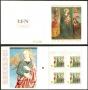 Carné de sellos Vaticano C1513. Navidad 2009. Virgen