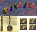 Carné de sellos Vaticano S/N. Navidad 2015
