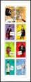 Carnet Sellos Francia Año 1996 Nº 3031. Personajes