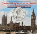 Cartera Gran Bretaña  1982 Sin circular