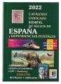 Catálogo Sellos de España y Dep. Postales. Edifil 2022