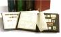 Clasificador sellos Comfort 32 pg. Cartón negro. Bandas transp.