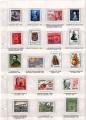 Colección 35 Sellos de España metálicos. Réplica