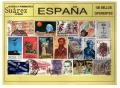 España 0100 sellos usados