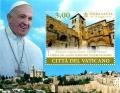 HB 1702. Viajes del Papa Francisco a Tierrra Santa