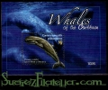 Hoja bloque Ballenas del Caribe 4 (**)