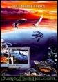 Hoja bloque Guinea Bissau 2004 (**). Delfines y faros 2