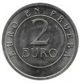 Jetón o Ficha 2 Euros en Prueba
