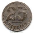 Jetón o Ficha de 25 pesetas