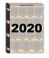Juego Hojas para las Monedas de 2 Euros 2020 . Pronumas