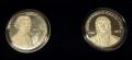 Juego de 2 Medallas Personajes Asturias. Jovellanos y Pedrayes