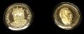Juego de 2 Medallas Personajes Asturias. Alfonso III y S. Ochoa