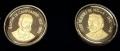 Juego de 2 Medallas Personajes Asturias. Campoamor y V. Mella