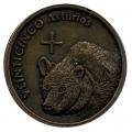 Medalla Adachi Construcciones - 25 Asturios