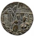 Medalla Centenario Caja de Ahorros de Asturias. 1980