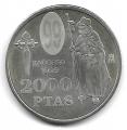 Moneda. 2000 pesetas S/C 1999