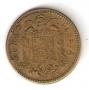 Moneda 001 peseta 1963 *19.63 .MBC.FALLO ACUÑACIÓN