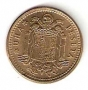 Moneda 001 peseta 1966 *67 .SC.FALLO CUÑO