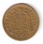 Moneda 001 peseta 1963 *65 .MBC.REMARCADO