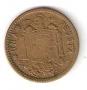 Moneda 001 peseta 1963 *65 .MBC.REMARCADA REVERSO