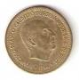 Moneda 001 peseta 1966 *75 .EBC.FALLO ACUÑACIÓN