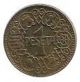 Moneda 001 peseta 1944. MBC