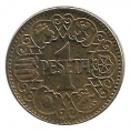 Moneda 001 peseta 1944. EBC-
