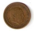 Moneda 001 peseta 1953 *61. MBC