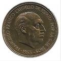 Moneda 002,5  pesetas 1953 *69.MBC (Estrella Arreglada)