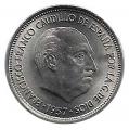 Moneda 005  pesetas 1957 *59.MBC