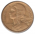 Moneda 0,10 Centimos Francia 1963 MBC
